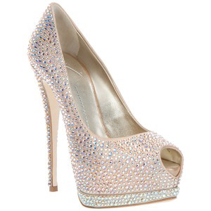 Giuseppe Zanotti Design Diamant pumps - Women's Platform Pumps | Platformebi | პლატფორმები