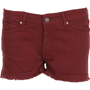 ELEVEN PARIS Short denim teint Rouge - shorts | shortebi | შორტები