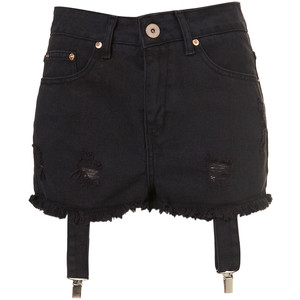 Denim Shorts By Fifi's Factory - shorts | shortebi | შორტები