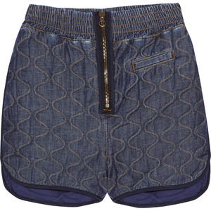 See by Chloé Quilted denim shorts - shorts | shortebi | შორტები