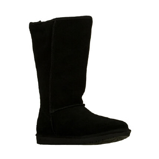 Skechers  Women's Shelbys- Powder Puff   Black Suede - Women's Boots