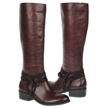 CARLOS BY CARLOS SANTANA  Women's Wellington   Wine Leather - Women's Boots