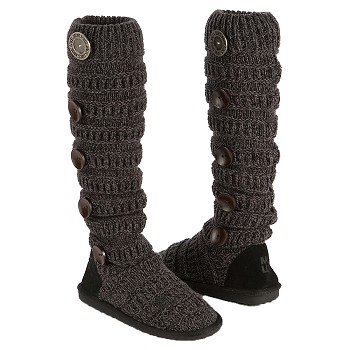 Muk Luks  Women's Miranda Stripe Boot   Ebony - Women's Boots