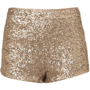 Gold Sequin Knickers - shorts | shortebi | შორტები