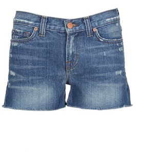 J-Brand Libra Washed Denim Shorts - shorts | shortebi | შორტები