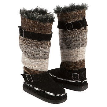 Muk Luks  Women's Janie Knit Boot   Neutral - Women's Boots