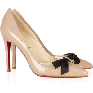 Women s Platform Pumps - Christian Louboutin Love Me 100 leather and ... 559633a5f3