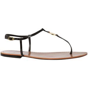 Sandals Lauren sandals Lauren Women's Flat Aimon Ralph by 8w0mNvn