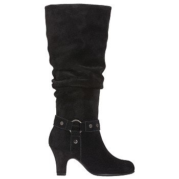 Aerosoles  Women's Soto Booth   Black Suede - Women's Boots
