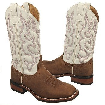 Laredo  Women's Mesquite   White / Tan Distress - Women's Boots