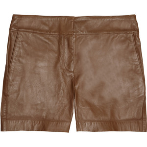 See by Chloé Leather shorts - shorts | shortebi | შორტები