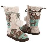 Muk Luks  Women's Jewel Slipper Boot   Frosty - Womens Boots