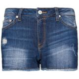 Frayed Denim Shorts - shorts