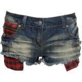 Crafted Zip Denim Shorts - shorts