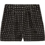 J.Crew High-waisted printed silk-organza shorts - shorts