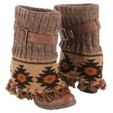 Muk Luks  Women's Cassandra Boot   Brown - Womens Boots