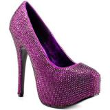 Viva Bordello Biggest Little City - Purple RS - Women's Platform Pumps