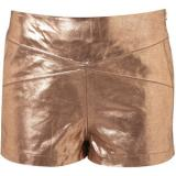 Rose Gold Panel Shorts - shorts