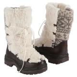 Muk Luks  Women's Massak Snow Boot   Vanilla - Womens Boots
