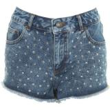High Waist Star Studded Short - shorts