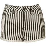 Petite Striped Hotpants - shorts