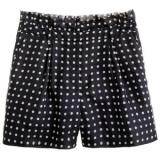 Collection polka-dot organza short - shorts