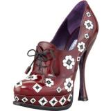 Prada Flower Applique Lace - Women's Platform Pumps