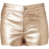 Metallic Bronze Shorts - shorts