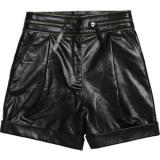 Karl Sanna glossed-leather shorts - shorts