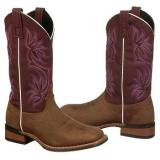 Laredo  Women's 5624   Vintae Tan/Purple Mm - Womens Boots