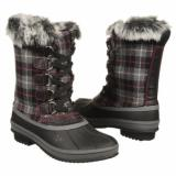 JELLYPOP  Women's Amil   Black/Fuchsia Plaid - Womens Boots