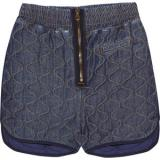 See by Chloé Quilted denim shorts - shorts | შორტები | shortebi