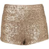 Gold Sequin Knickers - shorts
