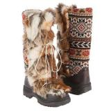 Muk Luks  Women's Sesu Tall Snow Boot   Brown - Womens Boots