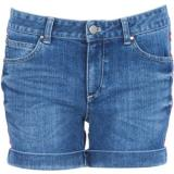APRIL MAY Short denim broderies Bleu - shorts
