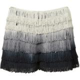 Co-ord Ombre Fringe Shorts - shorts