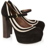 Marni Suede Mary Jane platform pumps - Women's Platform Pumps
