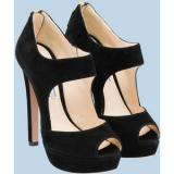 Prada Open-Toe - Women's Platform Pumps