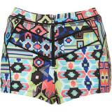 Bright Geo Knicker Shorts - shorts
