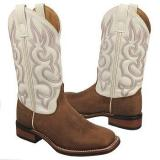 Laredo  Women's Mesquite   White / Tan Distress - Womens Boots