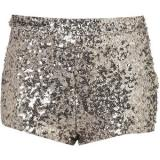 Silver Sequin Knickers - shorts